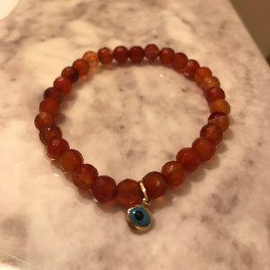 Carnelian stretch bracelet